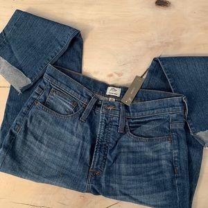 JCREW Slouchy Boyfriend Jeans • NWT